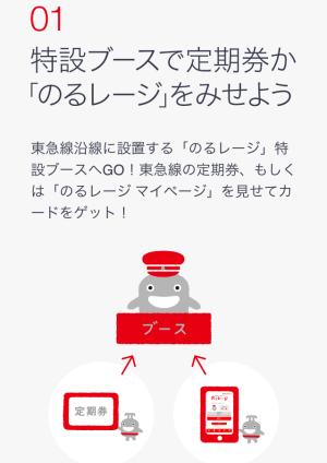 東急線キャラクターのるるん(東急)