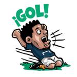 【海外限定スタンプ】Goal.com:サッカーファン (ポーランド語) スタンプ(2014年08月01日まで)