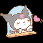 【新作スタンプ】恋するクロミ スタンプ