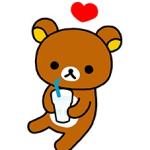 【隠しスタンプ】「カルピスウォーター」リラックマスタンプ(2014年08月11日まで)