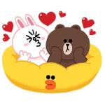 【限定スタンプ】LINEキャラクター:「かわいい 」はいいこと(インドネシア) スタンプ(2014年07月17 日まで)