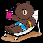 【新作スタンプ】LINEキャラ★Happy Holiday  スタンプ