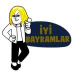 【海外限定スタンプ】よいバイラムを!(トルコ) スタンプ