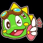 【海外限定スタンプ】LINEパズルボブル(英語版) スタンプ(2014年08月20日まで)