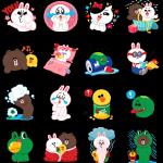 【海外限定スタンプ】LINEキャラクター:可愛いは正義(シンガポール) スタンプ(2014年08月11日まで)