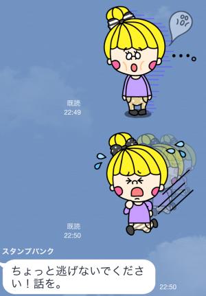 【限定無料クリエイターズスタンプ】POPなノアちゃん スタンプ(2014年11月30日まで)