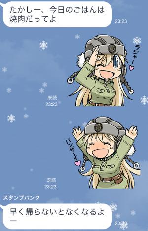 【隠しスタンプ】ワールド・オブ・タンコちゃん! スタンプ(2015年03月15日まで) (3)