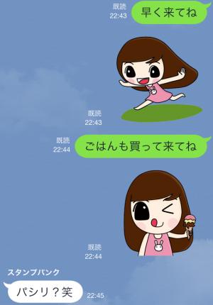 【限定無料クリエイターズスタンプ】momo&joon pyo スタンプ(無料期間:2014年12月21日まで) (17)