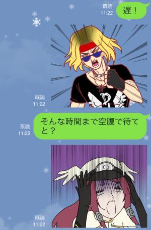【ゲームキャラクリエイターズスタンプ】ぶるらじカットイン 1 スタンプ (9)