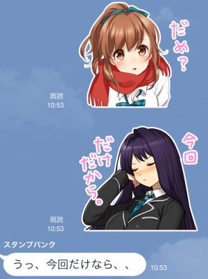【ゲームキャラクリエイターズスタンプ】【公式】ヘルプ!!!恋が丘学園おたすけ部 スタンプ (4)