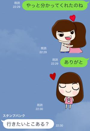 【限定無料クリエイターズスタンプ】momo&joon pyo スタンプ(無料期間:2014年12月21日まで) (11)