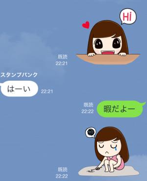 【限定無料クリエイターズスタンプ】momo&joon pyo スタンプ(無料期間:2014年12月21日まで) (3)