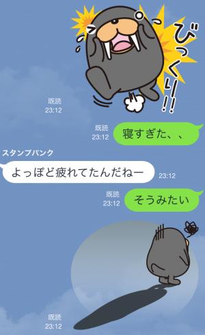 【企業マスコットクリエイターズ】トドクロちゃん スタンプ (14)