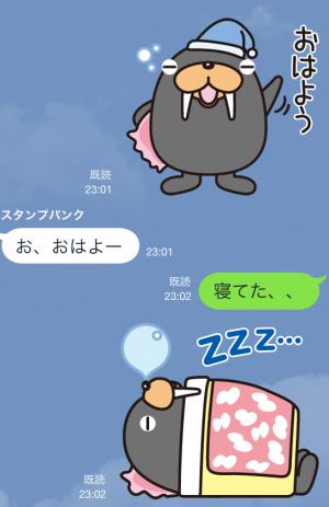 【企業マスコットクリエイターズ】トドクロちゃん スタンプ (3)