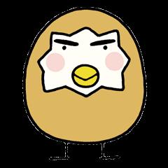 【アニメ・マンガキャラクリエイターズ】たまごにいちゃんスタンプ