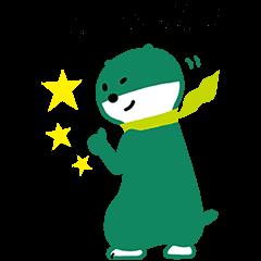【限定スタンプ】三井住友銀行キャラクタースタンプ 第2弾 スタンプ(2015年01月19日まで)