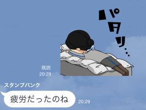 【動く限定スタンプ】ANAスタンプ第4弾! スタンプ(2015年02月23日まで) (12)