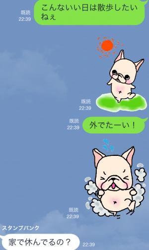 【限定無料クリエイターズスタンプ】フレブルちゃんスタンプ(2015年1月25日まで無料) (6)