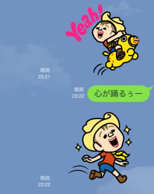 【企業マスコットクリエイターズ】RODY Kids スタンプ (4)