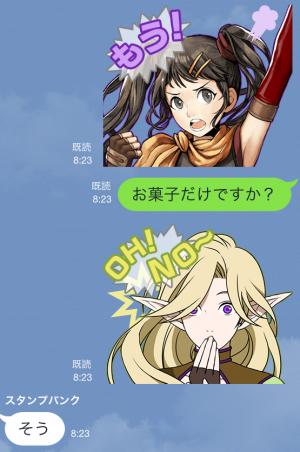 【ゲームキャラクリエイターズスタンプ】シャイニング・フォースクロス スタンプ (12)