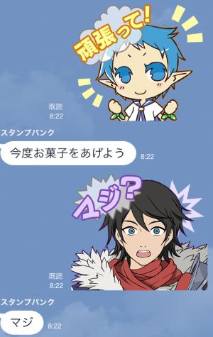 【ゲームキャラクリエイターズスタンプ】シャイニング・フォースクロス スタンプ (10)