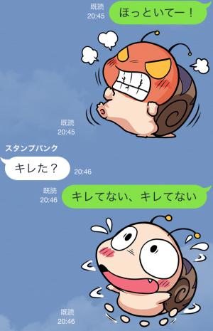 【限定無料クリエイターズスタンプ】つむりん スタンプ (10)