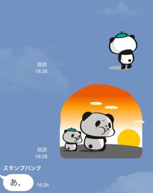 【動く限定スタンプ】動く!お買いものパンダ スタンプ(2015年02月16日まで) (11)