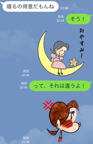 【アニメ・マンガキャラクリエイターズ】チッチとサリー(小さな恋のものがたり) スタンプ (9)