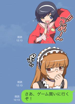 【アニメ・マンガキャラクリエイターズ】神のみぞ知るセカイ スタンプ (6)
