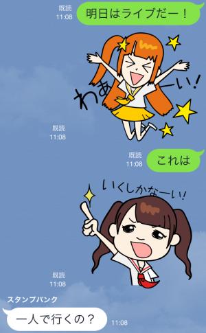 【芸能人スタンプ】でんぱ組.inc(byでんぱの神神) スタンプ (3)
