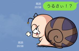 【限定無料クリエイターズスタンプ】つむりん スタンプ (23)