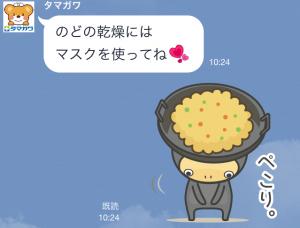 【隠しスタンプ】ガンバレ!たまくまちゃん 第2弾 スタンプ(2015年03月19日まで) (6)