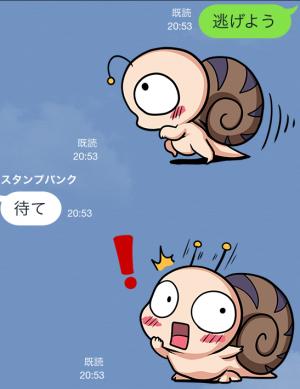 【限定無料クリエイターズスタンプ】つむりん スタンプ (17)