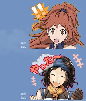 【ゲームキャラクリエイターズスタンプ】シャイニング・フォースクロス スタンプ (7)