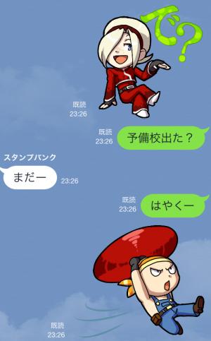 【ゲームキャラクリエイターズスタンプ】THE KING OF FIGHTERS vol.1 スタンプ (13)