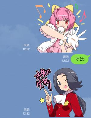 【アニメ・マンガキャラクリエイターズ】神のみぞ知るセカイ スタンプ (16)