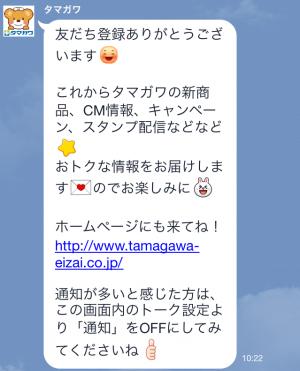 【隠しスタンプ】ガンバレ!たまくまちゃん 第2弾 スタンプ(2015年03月19日まで) (3)