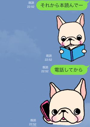 【限定無料クリエイターズスタンプ】フレブルちゃんスタンプ(2015年1月25日まで無料) (13)