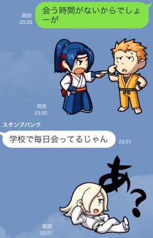 【ゲームキャラクリエイターズスタンプ】THE KING OF FIGHTERS vol.1 スタンプ (7)