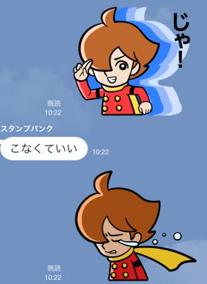 【アニメ・マンガキャラクリエイターズ】サイボーグ009 スタンプ (17)