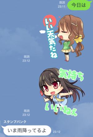 【ゲームキャラクリエイターズスタンプ】PCゲーム「アイコレ〜with you〜」 スタンプ (17)
