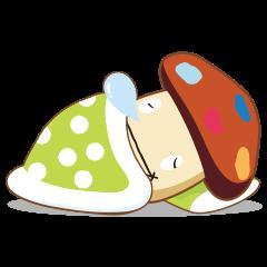 【動く限定スタンプ】動くドコモダケ♪ スタンプ(2015年02月02日まで)