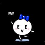 【動く限定スタンプ】ようせいイブちゃん by EVE スタンプ(2015年02月02日まで)