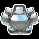 【隠しスタンプ】BMW アクティブツアラー スタンプ(2015年04月12日まで)