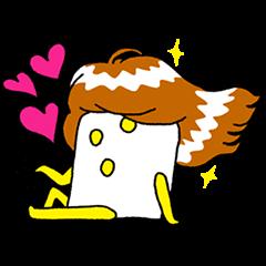 【隠しスタンプ】ぷっちょ×井上涼コラボスタンプ(2015年04月13日まで)