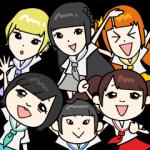 【芸能人スタンプ】でんぱ組.inc(byでんぱの神神) スタンプ