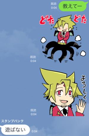 【アニメ・マンガキャラクリエイターズ】がくモン!(春原ロビンソン) スタンプ (13)
