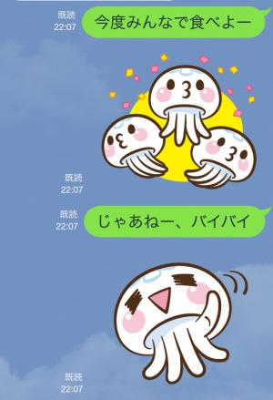 【限定無料クリエイターズスタンプ】クラゲのクララ スタンプ(無料配布期間:2015年2月8日まで) (24)
