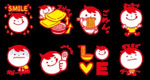 【無料スタンプ速報】マルちゃんオリジナルスタンプ(2015年05月20日まで)