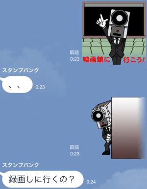 【企業マスコットクリエイターズ】「NO MORE映画泥棒」 スタンプ (4)